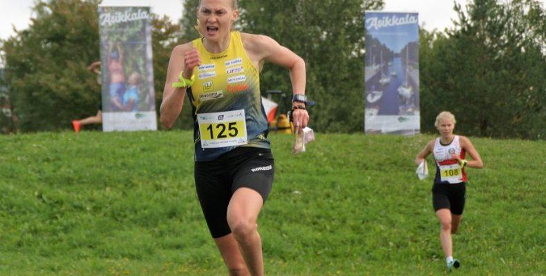 Maija Sianojan hurja vauhti nosti MS Parman voittoon. Kuva: Petri Riutto