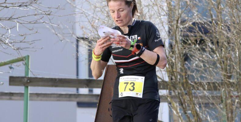Merja Rantanen on ehtinyt kilpailla tällä kaudella Keravan sprintissä. Kuva: Jarmo Koskela/Viestiliiga